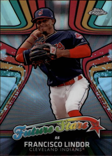 Photo of 2017 Topps Chrome Future Stars #FS10 Francisco Lindor
