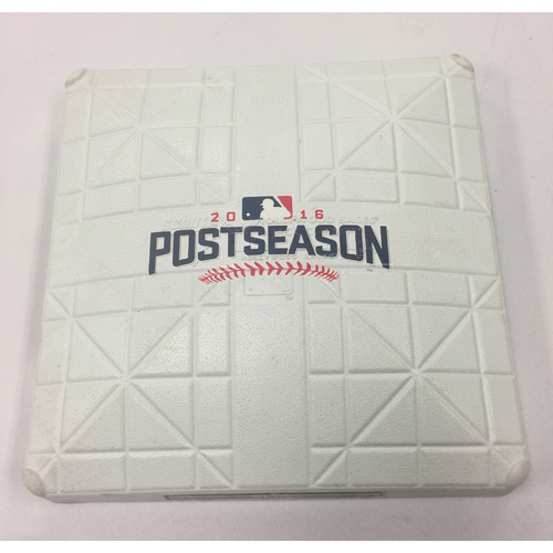 Photo of Indians at Red Sox 2016 ALDS Team-Issued Base
