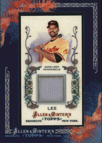 Photo of 2011 Topps Allen and Ginter Relics #DL Derrek Lee