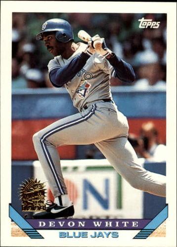 Photo of 1993 Topps Inaugural Marlins #387 Devon White