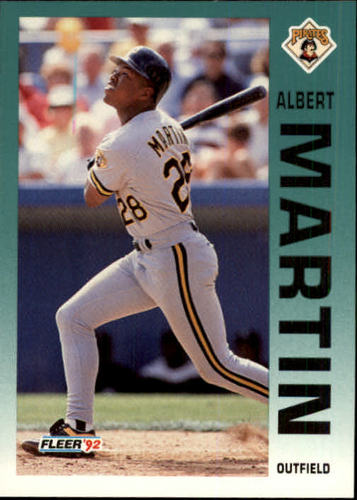 Photo of 1992 Fleer Update #114 Al Martin RC