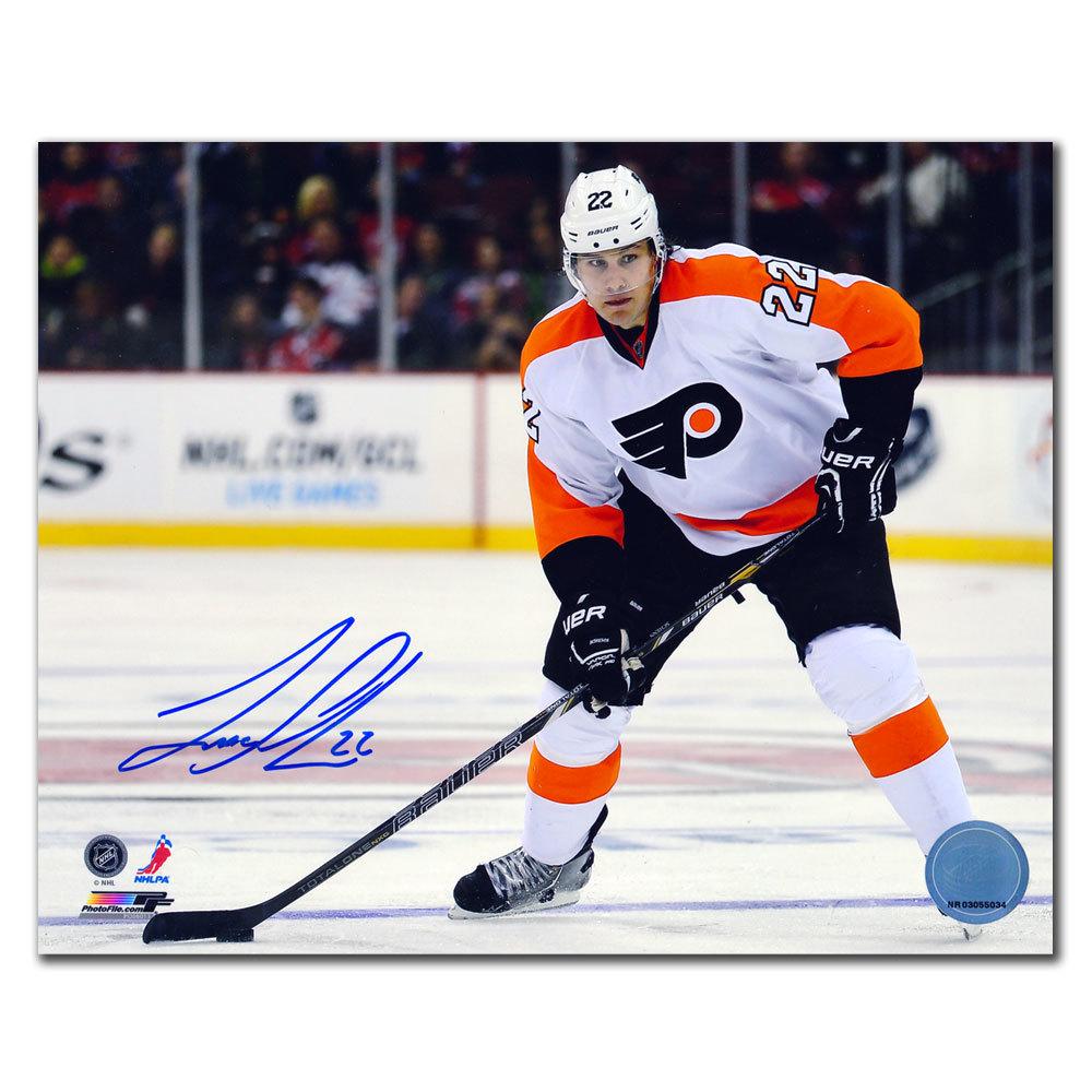 Luke Schenn Philadelphia Flyers Autographed 16x20