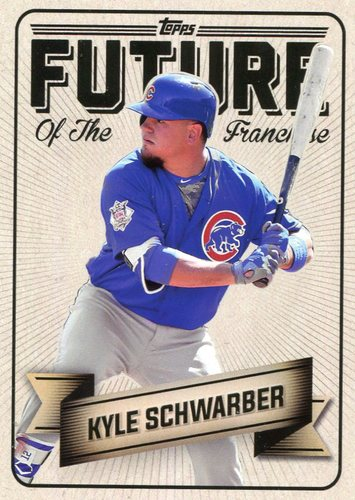 Photo of 2016 Topps Bunt Future of the Franchise #FF5 Kyle Schwarber