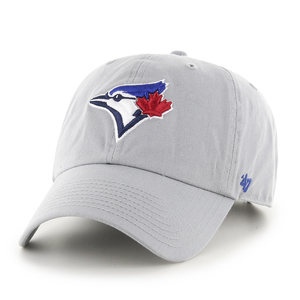 Toronto Blue Jays Clean Up Storm Grey Adjustable Cap by '47 Brand