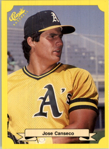 Photo of 1987 Classic Update Yellow #125 Jose Canseco