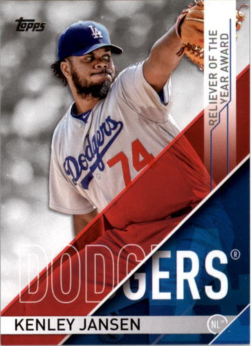 Photo of 2017 Topps MLB Awards #RLY2 Kenley Jansen