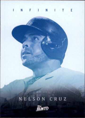 Photo of 2017 Topps Bunt Infinite #INC Nelson Cruz