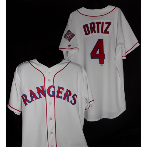Photo of Hector Ortiz 2017 Game-Used Jersey