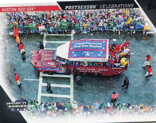 Photo of 2017 Topps Update Postseason Celebration #PC12 Boston Red Sox