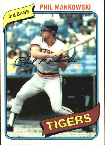 Photo of 1980 Topps #216 Phil Mankowski