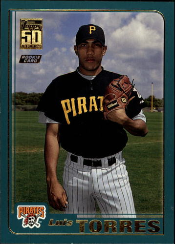 Photo of 2001 Topps Traded #T249 Luis Torres RC