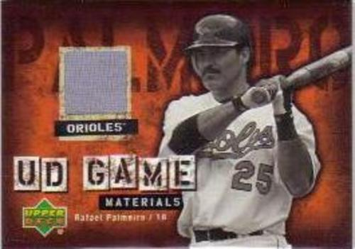 Photo of 2006 Upper Deck UD Game Materials #RP Rafael Palmeiro Jsy S1