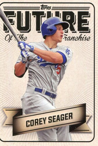 Photo of 2016 Topps Bunt Future of the Franchise #FF9 Corey Seager