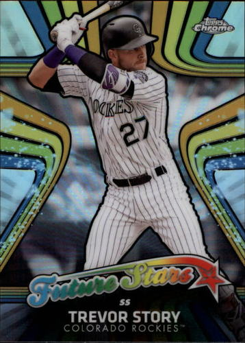 Photo of 2017 Topps Chrome Future Stars #FS14 Trevor Story