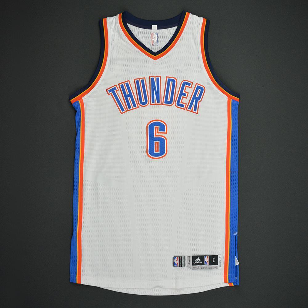 Semaj Christon - Oklahoma City Thunder - Game-Worn Rookie Debut Jersey - 2016-17 Season