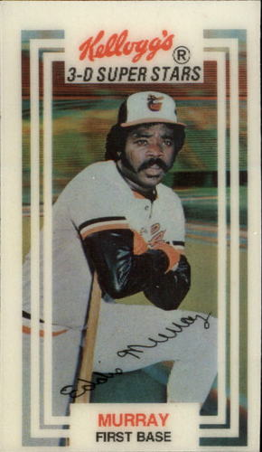 Photo of 1983 Kellogg's #11 Eddie Murray