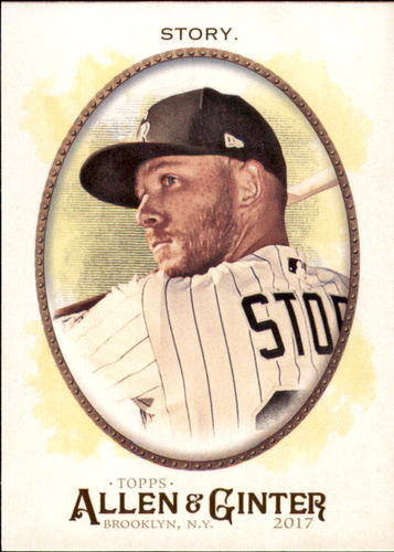 Photo of 2017 Topps Allen and Ginter #278 Trevor Story