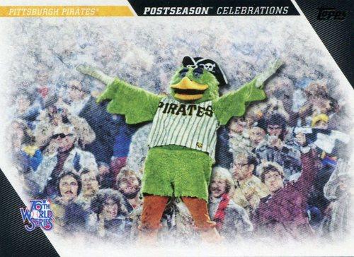 Photo of 2017 Topps Update Postseason Celebration #PC14 Pittsburgh Pirates