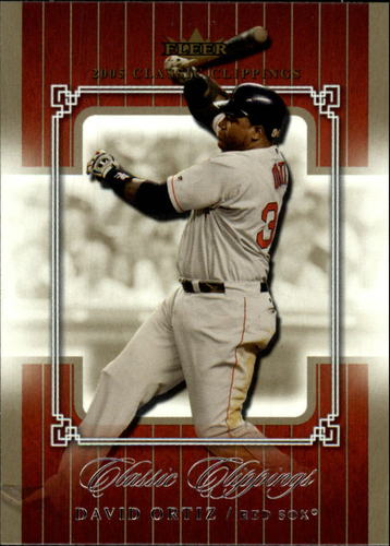 Photo of 2005 Classic Clippings #39 David Ortiz