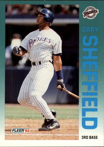 Photo of 1992 Fleer Update #125 Gary Sheffield