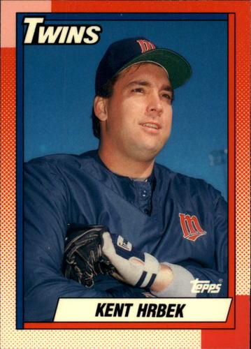 Photo of 1990 Topps Tiffany #125 Kent Hrbek