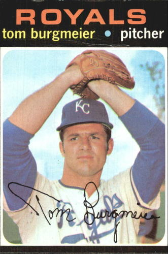 Photo of 1971 Topps #431 Tom Burgmeier