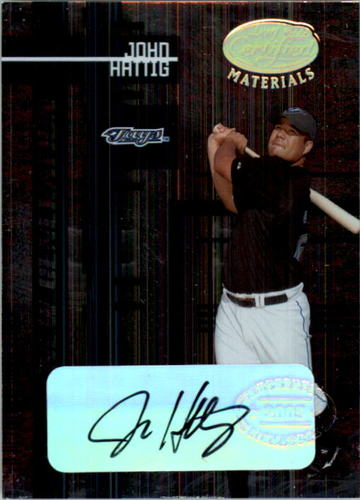 Photo of 2005 Leaf Certified Materials #220 John Hattig NG AU RC