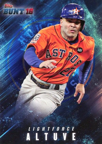 Photo of 2016 Topps Bunt Light Force #LF1 Jose Altuve