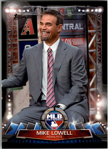 Photo of 2017 Topps MLB Network #MLBN2 Mike Lowell
