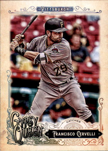 Photo of 2017 Topps Gypsy Queen #125 Francisco Cervelli