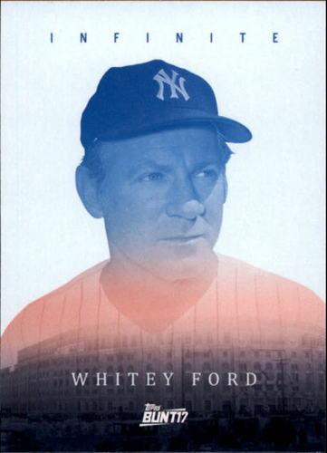 Photo of 2017 Topps Bunt Infinite #IWF Whitey Ford