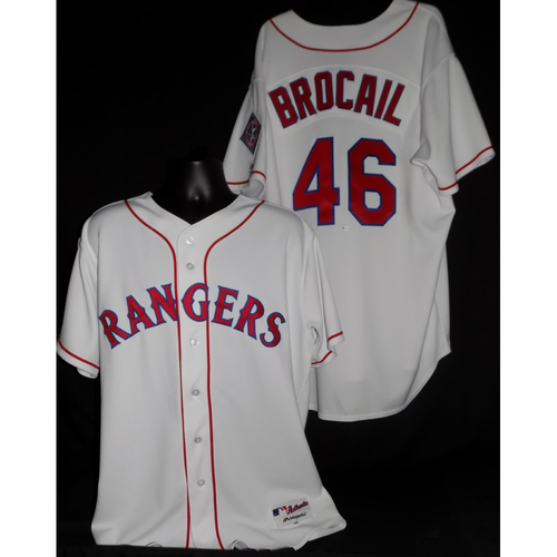 Doug Brocail 2017 Game-Used Jersey