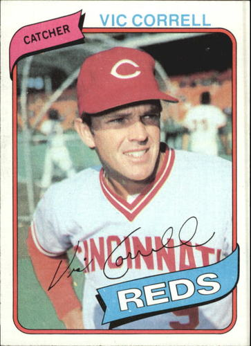 Photo of 1980 Topps #419 Vic Correll