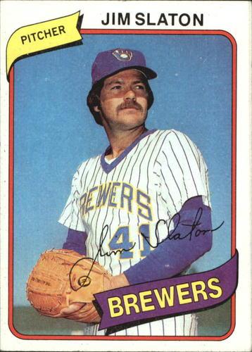 Photo of 1980 Topps #24 Jim Slaton
