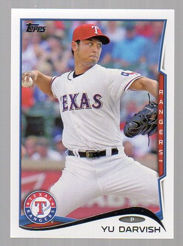 Photo of 2014 Topps #300A Yu Darvish