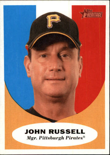 Photo of 2010 Topps Heritage #138 John Russell MG