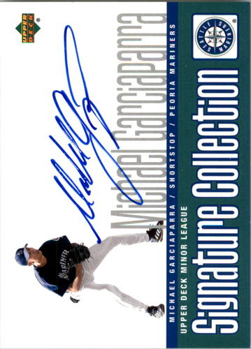Photo of 2002 UD Minor League Signature Collection #MG Michael Garciaparra