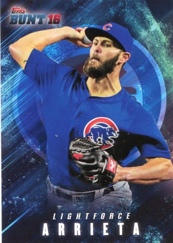 Photo of 2016 Topps Bunt Light Force #LF2 Jake Arrieta