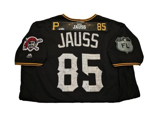 Photo of Dave Jauss Game-Used Spring Training Jersey and Locker Name Plate