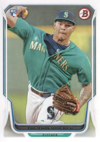 Photo of 2014 Bowman #86 Taijuan Walker Rookie Card -- D'backs post-season