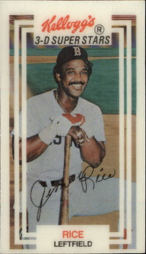 Photo of 1983 Kellogg's #13 Jim Rice