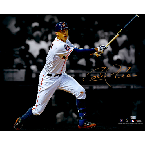 "Photo of Carlos Correa Houston Astros Autographed 16"" x 20"" Spotlight Photograph"