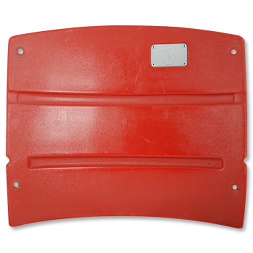 Photo of Red Sox Authentics: Fenway Park Game-Used Red Seatback