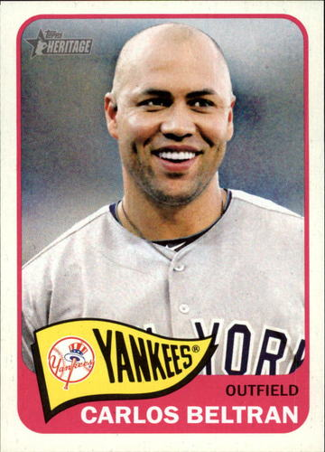 Photo of 2014 Topps Heritage #43A Carlos Beltran