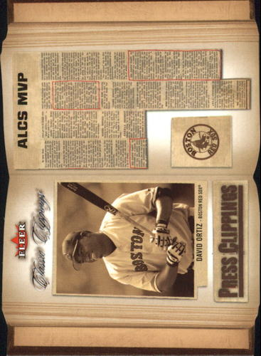 Photo of 2005 Classic Clippings Press Clippings #4 David Ortiz