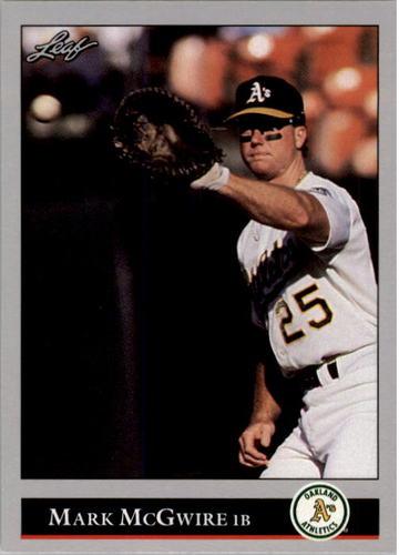 Photo of 1992 Leaf #16 Mark McGwire