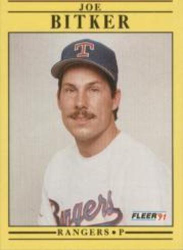 Photo of 1991 Fleer #281 Joe Bitker RC