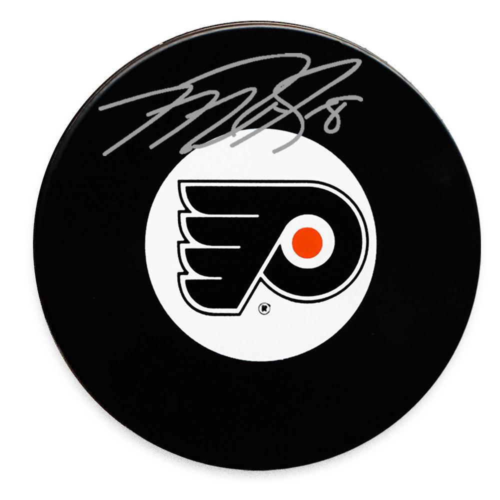 Mike Richards Philadelphia Flyers Autographed Puck