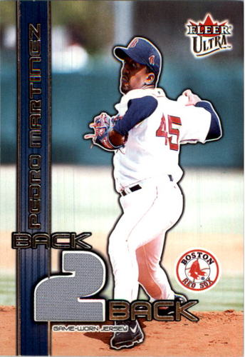 Photo of 2003 Ultra Back 2 Back Memorabilia #PM Pedro Martinez Jsy