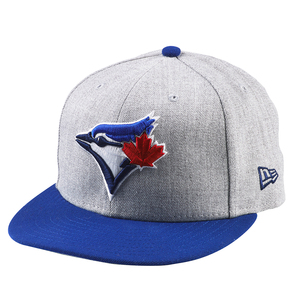 Toronto Blue Jays Heather Action Royal/Grey Fitted Cap by New Era
